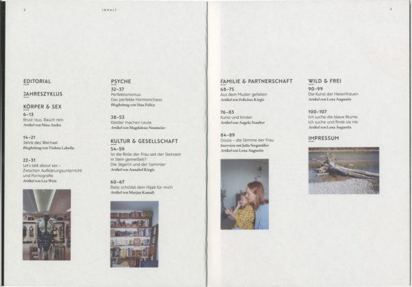 amazonen-magazin-inhaltsverzeichnis